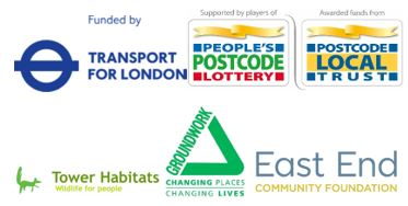 logos of funders of the Nature & Us community cohesion project